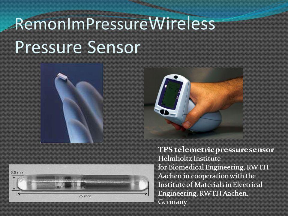 RemonImPressureWireless Pressure Sensor