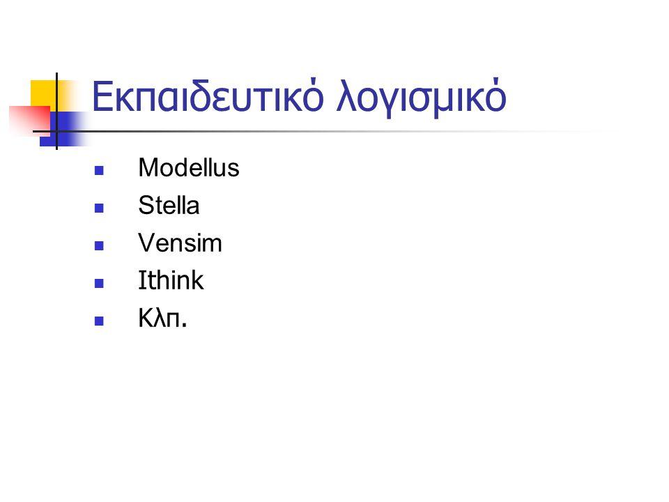 Εκπαιδευτικό λογισμικό