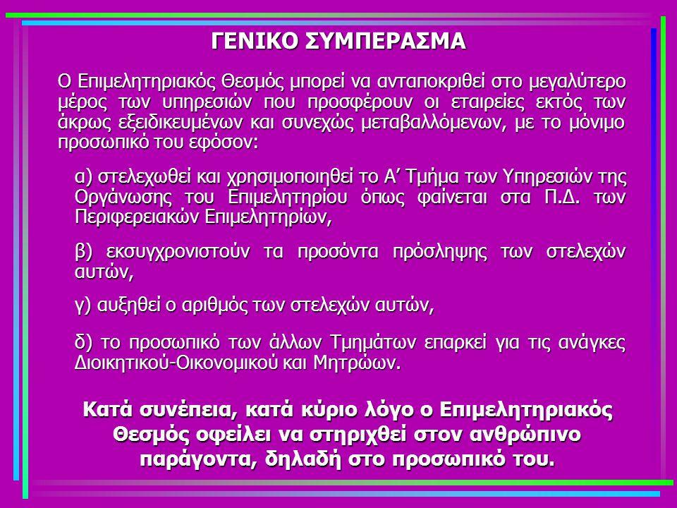 ΓΕΝΙΚΟ ΣΥΜΠΕΡΑΣΜΑ