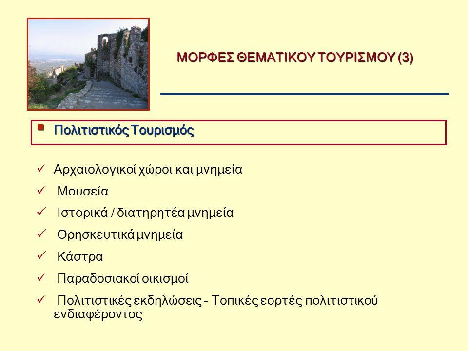 ΜΟΡΦΕΣ ΘΕΜΑΤΙΚΟΥ ΤΟΥΡΙΣΜΟΥ (3)