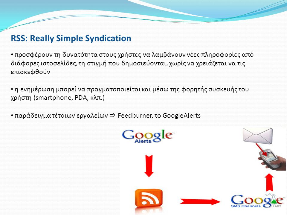 RSS: Really Simple Syndication
