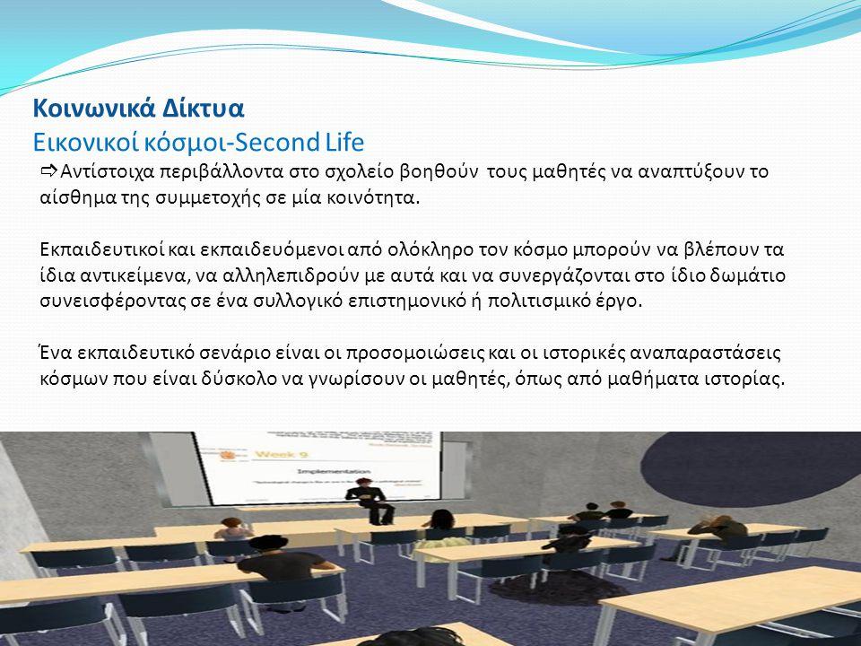Εικονικοί κόσμοι-Second Life