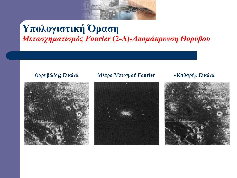 Μέτρο Μετ/σμού Fourier