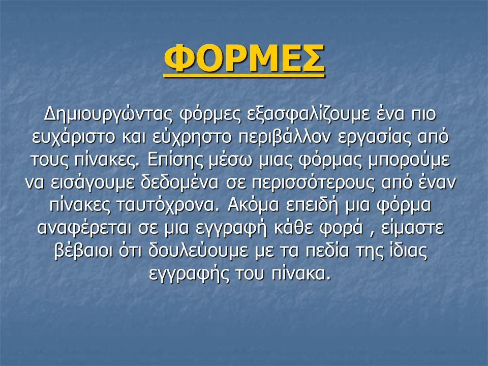 ΦΟΡΜΕΣ