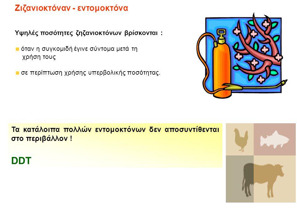 DDT Ζιζανιοκτόναν - εντομοκτόνα