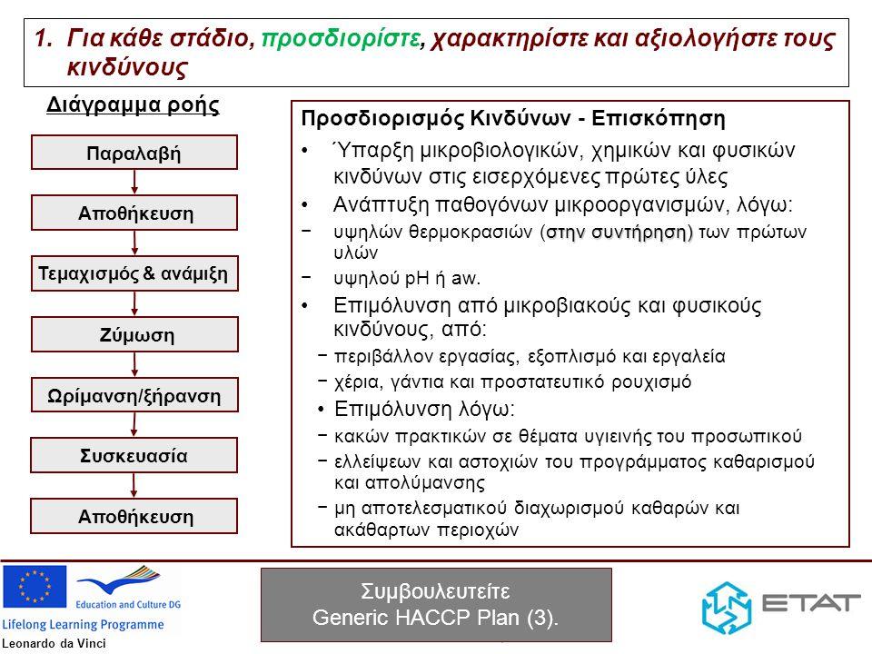 Συμβουλευτείτε Generic HACCP Plan (3).