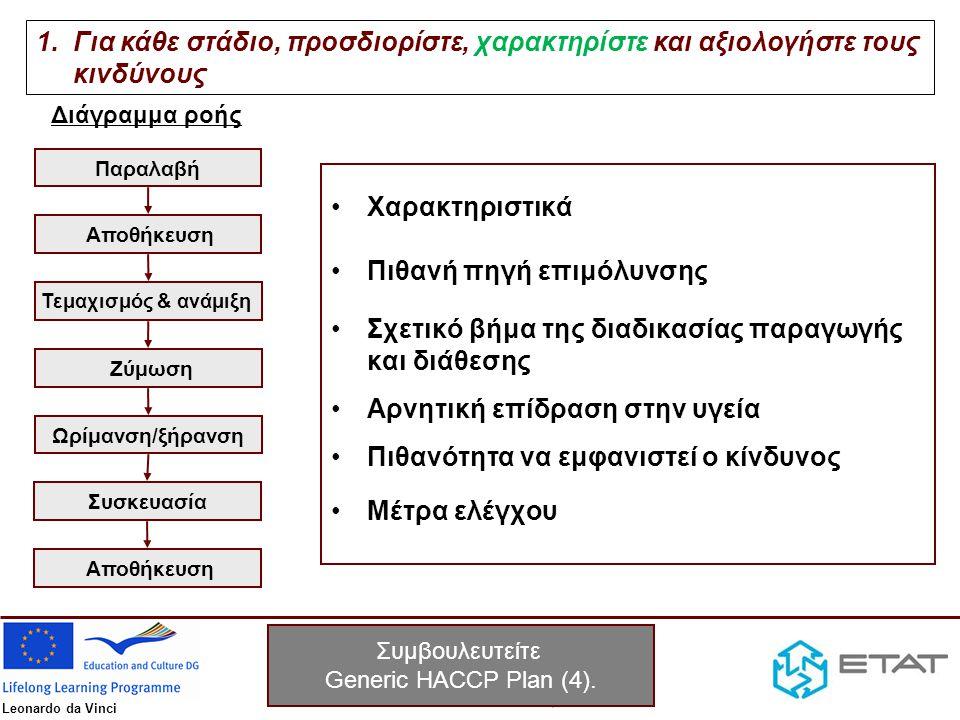 Συμβουλευτείτε Generic HACCP Plan (4).