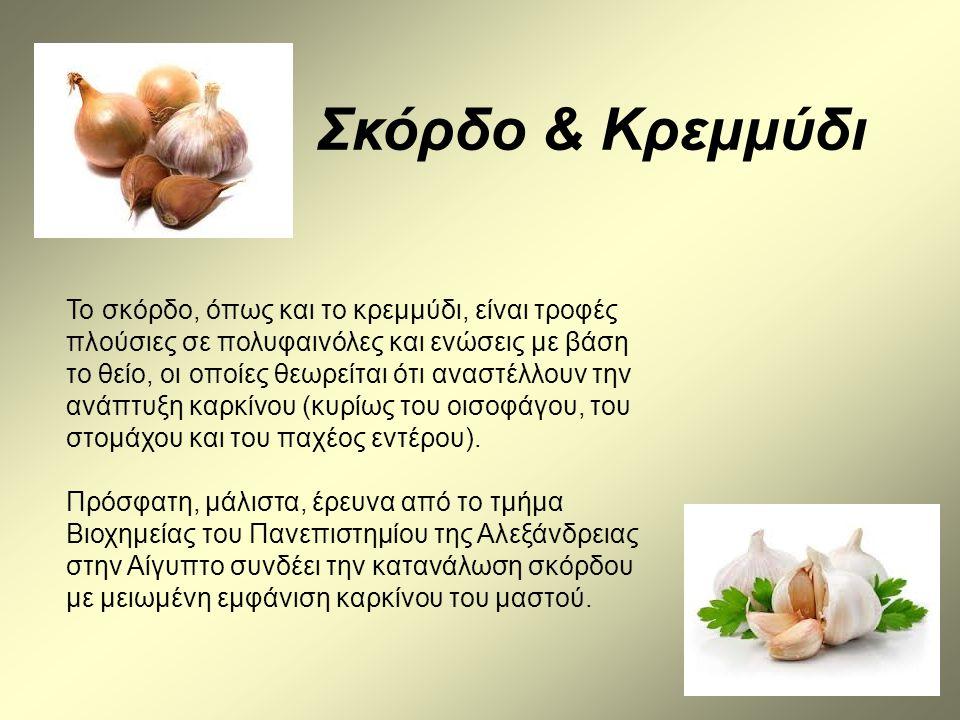 Σκόρδο & Κρεμμύδι