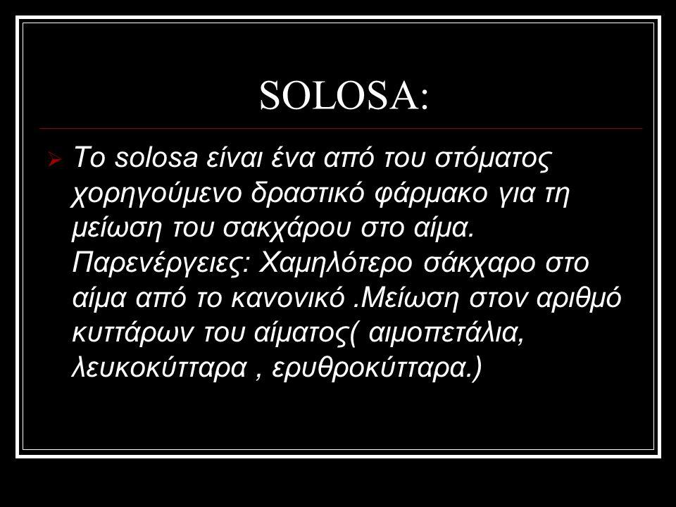 SOLOSA: