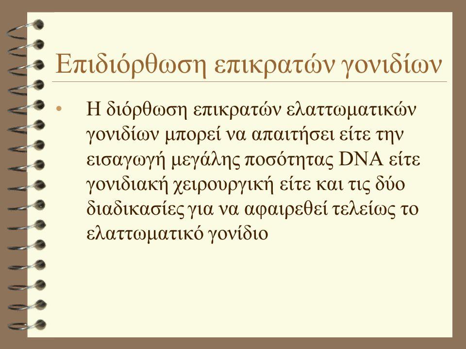 Επιδιόρθωση επικρατών γονιδίων