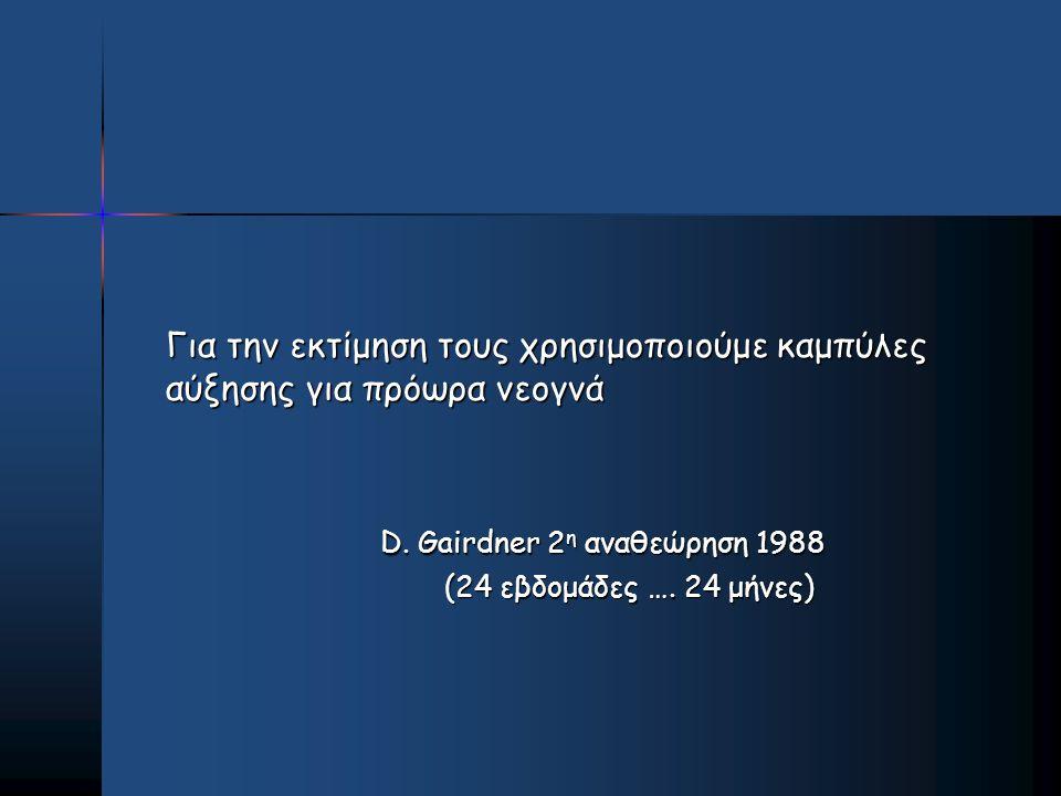 D. Gairdner 2η αναθεώρηση 1988