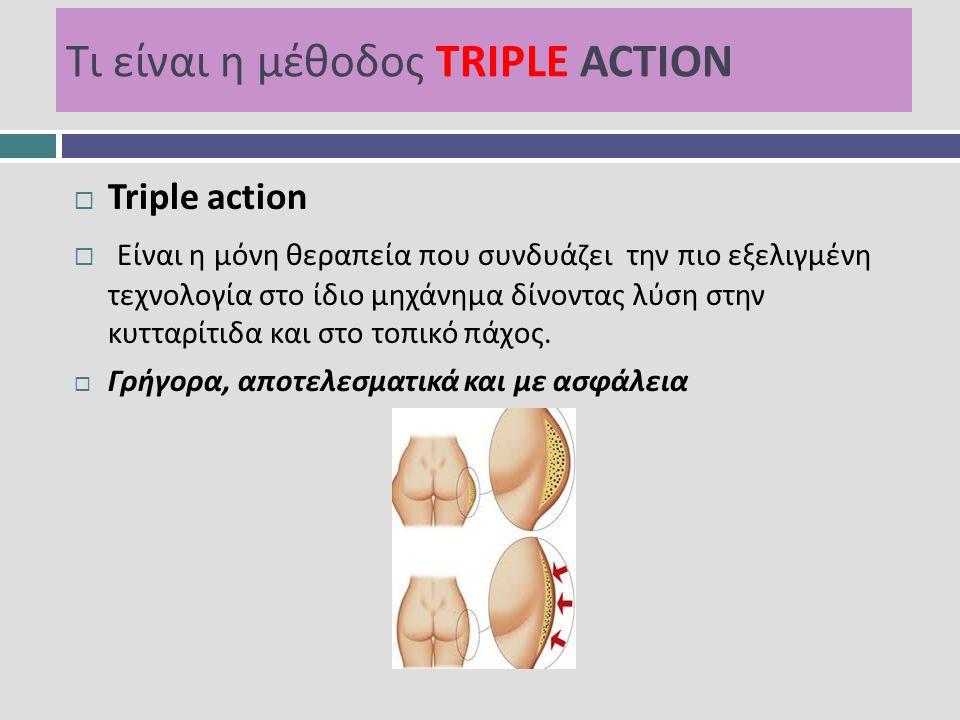 Τι είναι η μέθοδος TRIPLE ACTION