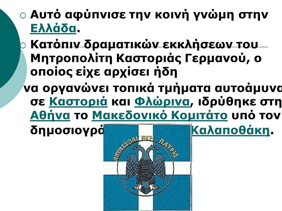 Αυτό αφύπνισε την κοινή γνώμη στην Ελλάδα.