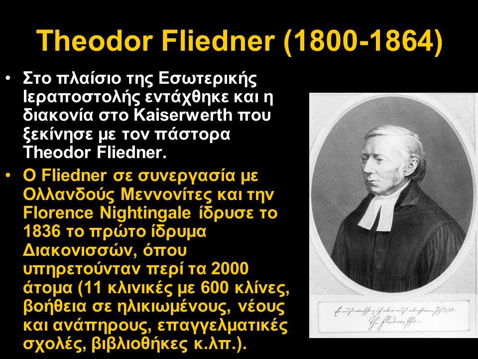 Theodor Fliedner (1800-1864)