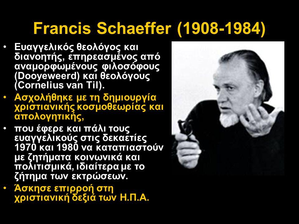 Francis Schaeffer (1908-1984)