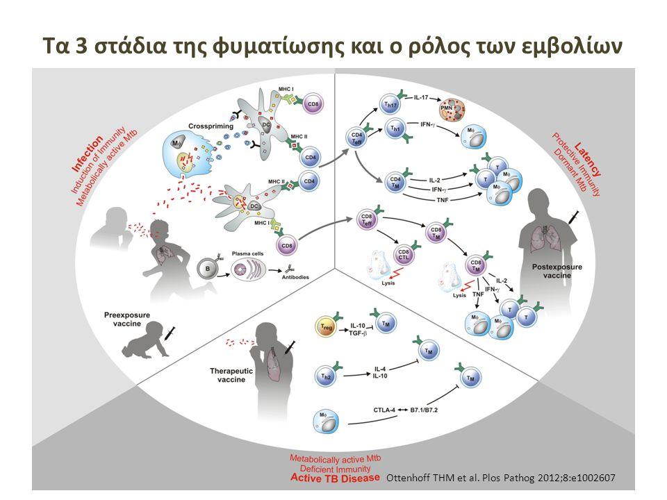 Tα 3 στάδια της φυματίωσης και ο ρόλος των εμβολίων