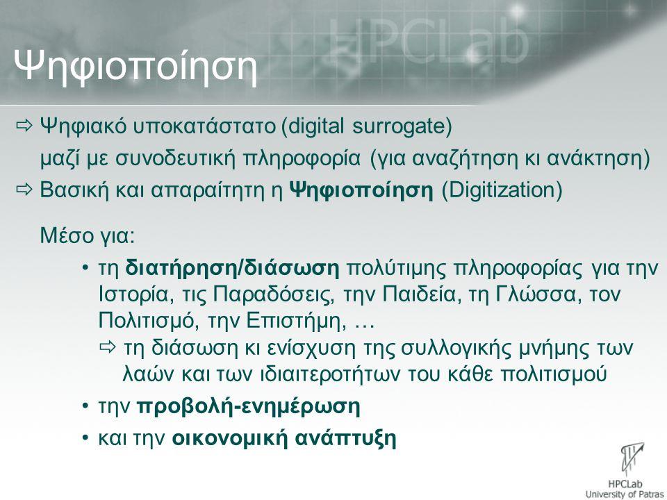 Ψηφιοποίηση Ψηφιακό υποκατάστατο (digital surrogate)
