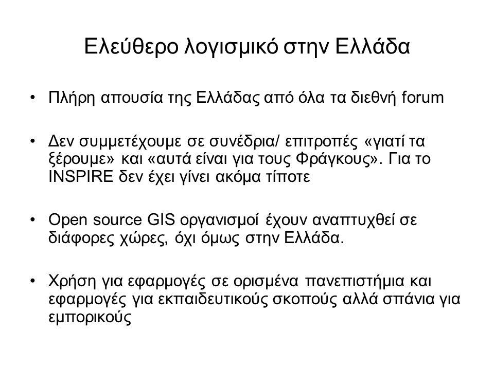 Ελεύθερο λογισμικό στην Ελλάδα