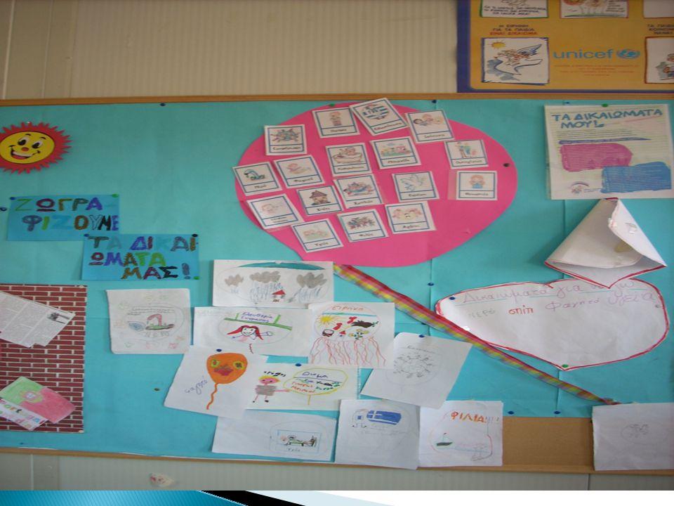 Ζωγραφίζουμε τα δικαιώματα των παιδιών!