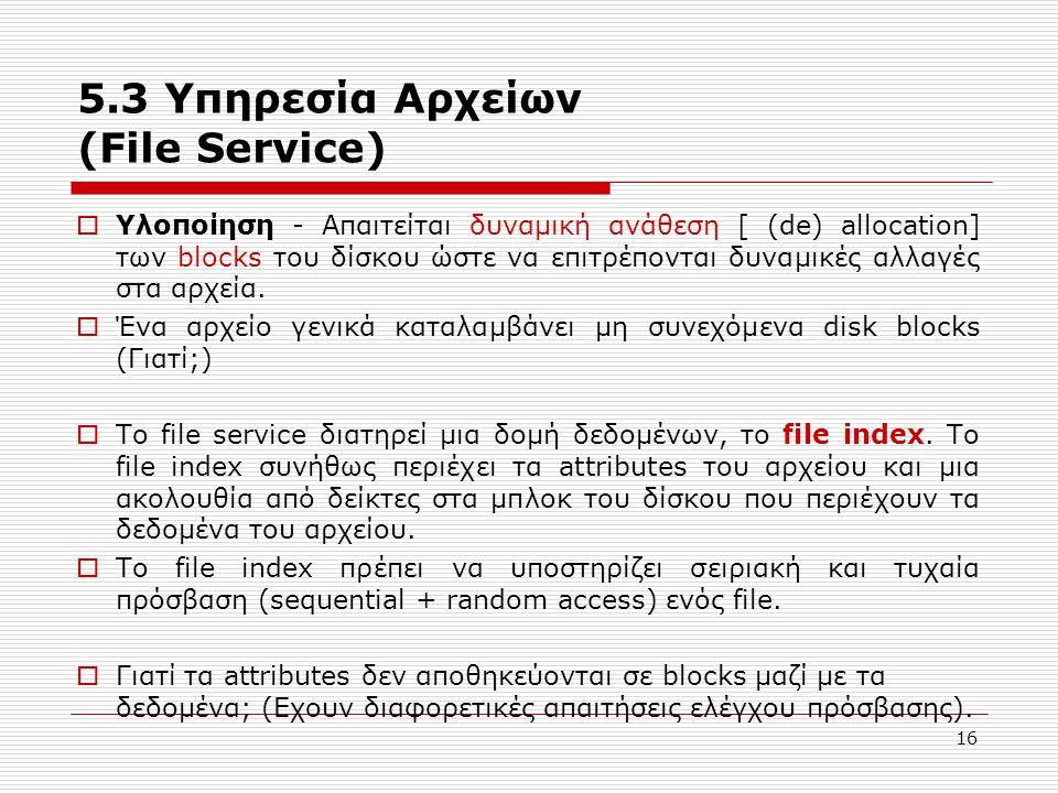 5.3 Υπηρεσία Αρχείων (File Service)