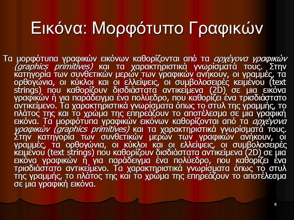 Εικόνα: Μορφότυπο Γραφικών