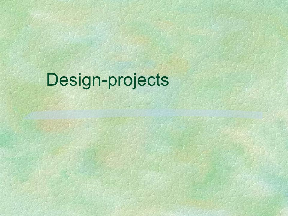 Design-projects