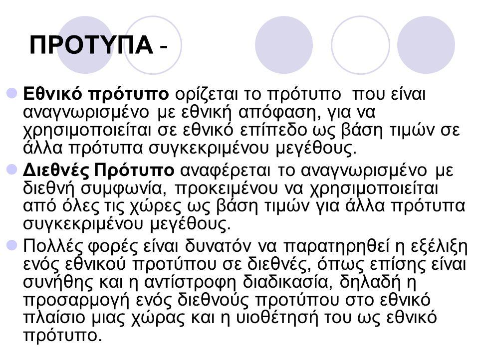 ΠΡΟΤΥΠΑ -