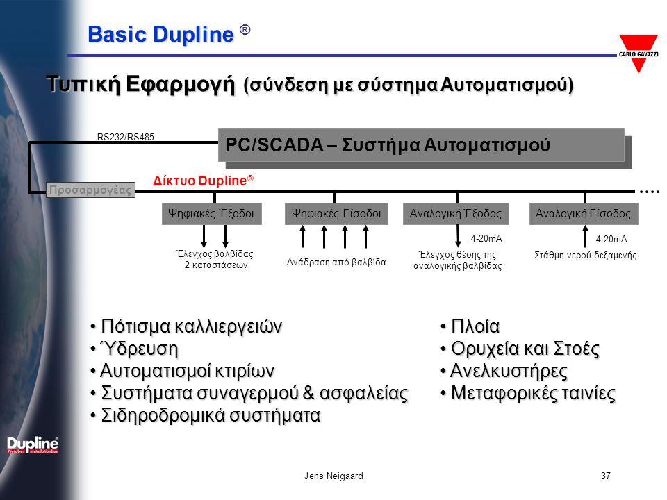 Τυπική Εφαρμογή (σύνδεση με σύστημα Αυτοματισμού)