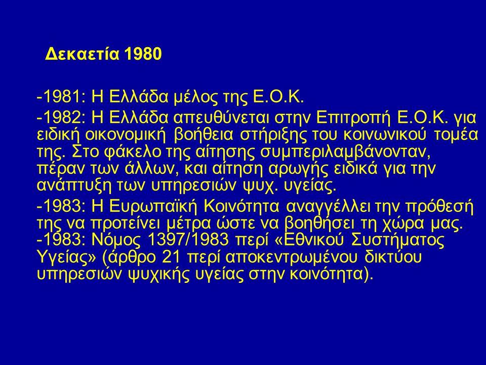 -1981: Η Ελλάδα μέλος της Ε.Ο.Κ.