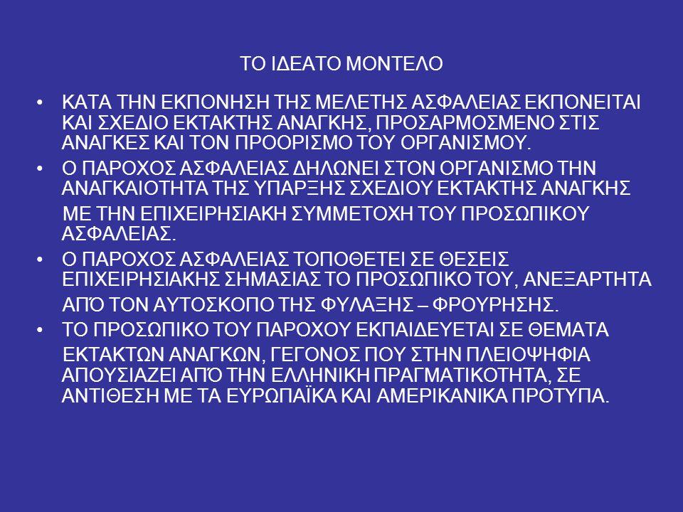 ΤΟ ΙΔΕΑΤΟ ΜΟΝΤΕΛΟ