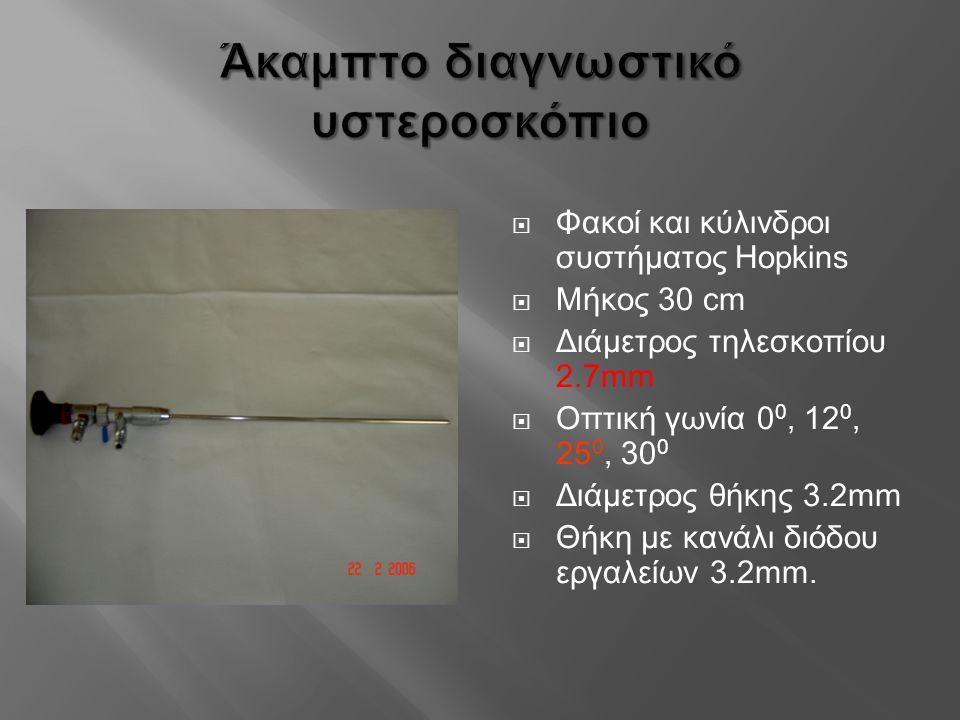 Άκαμπτο διαγνωστικό υστεροσκόπιο