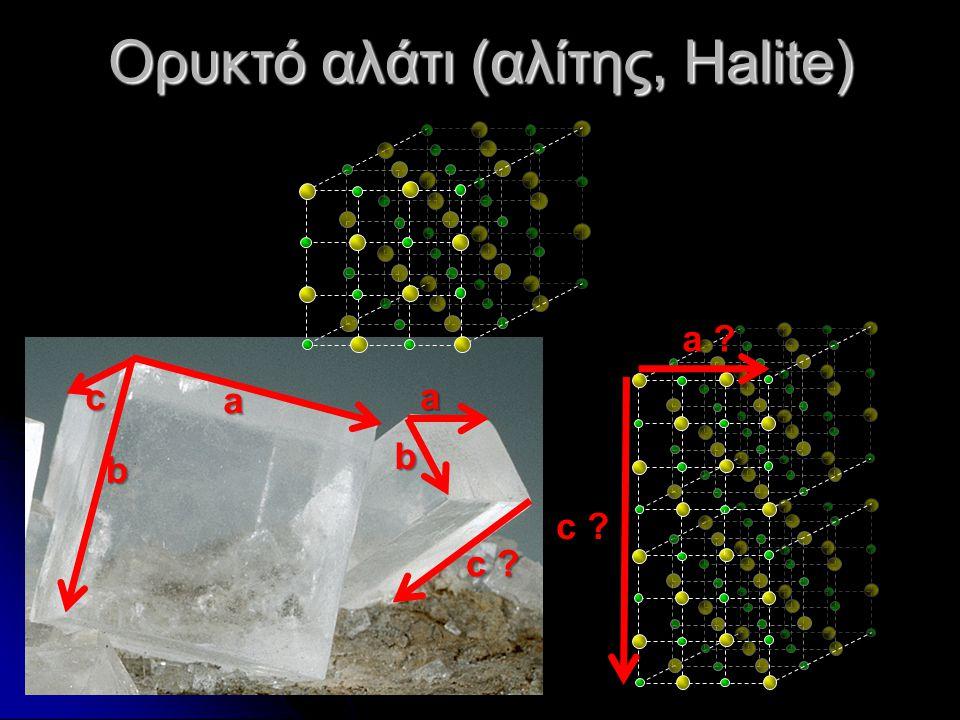 Ορυκτό αλάτι (αλίτης, Halite)