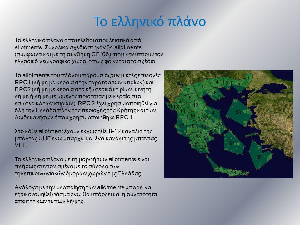 Το ελληνικό πλάνο
