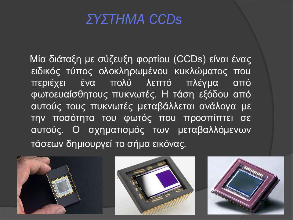 ΣΥΣΤΗΜΑ CCDs