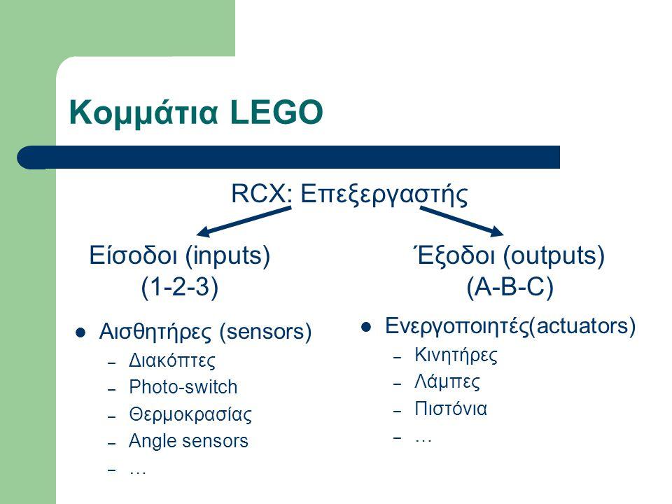 Έξοδοι (outputs) (A-B-C)