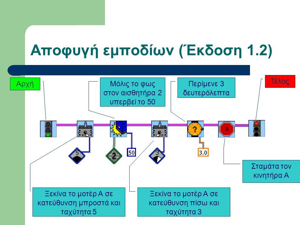 Αποφυγή εμποδίων (Έκδοση 1.2)