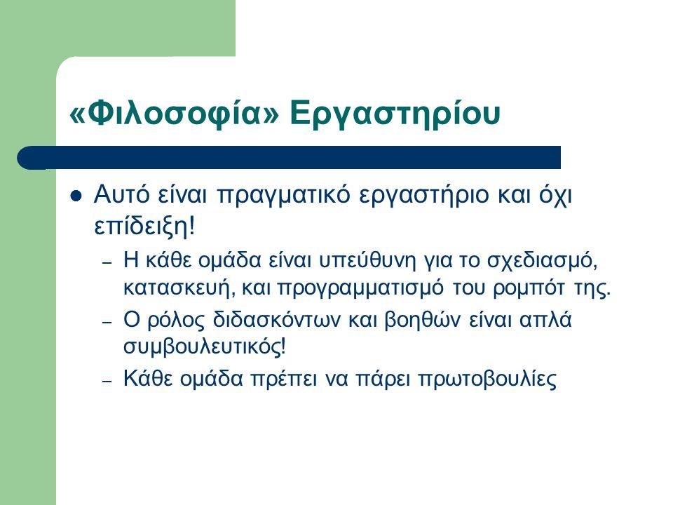 «Φιλοσοφία» Εργαστηρίου
