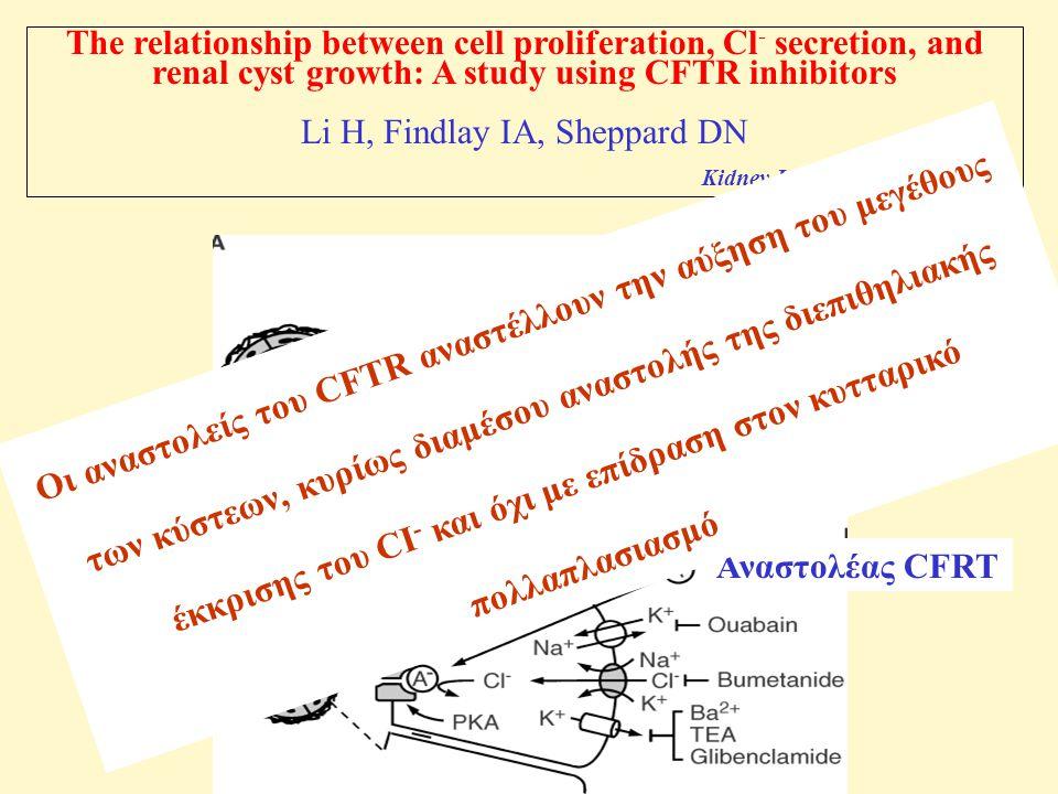 Li H, Findlay IA, Sheppard DN