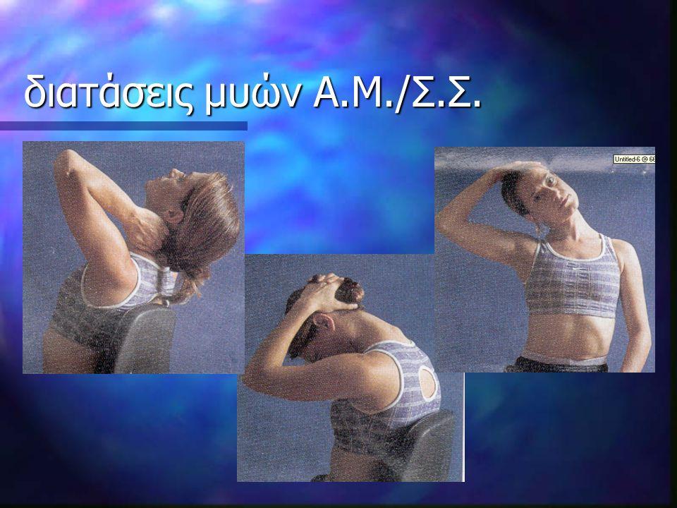 διατάσεις μυών Α.Μ./Σ.Σ.