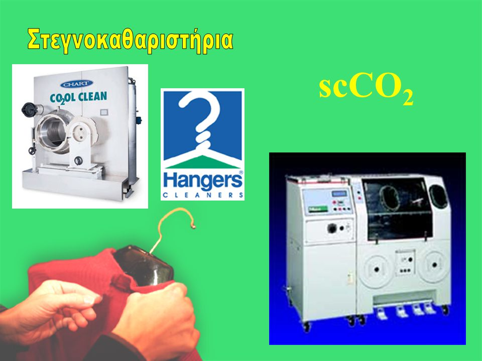 Στεγνοκαθαριστήρια scCO2