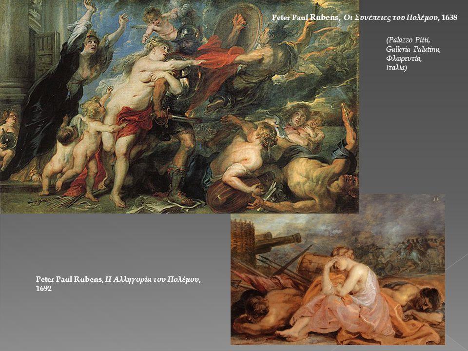 Peter Paul Rubens, Οι Συνέπειες του Πολέμου, 1638