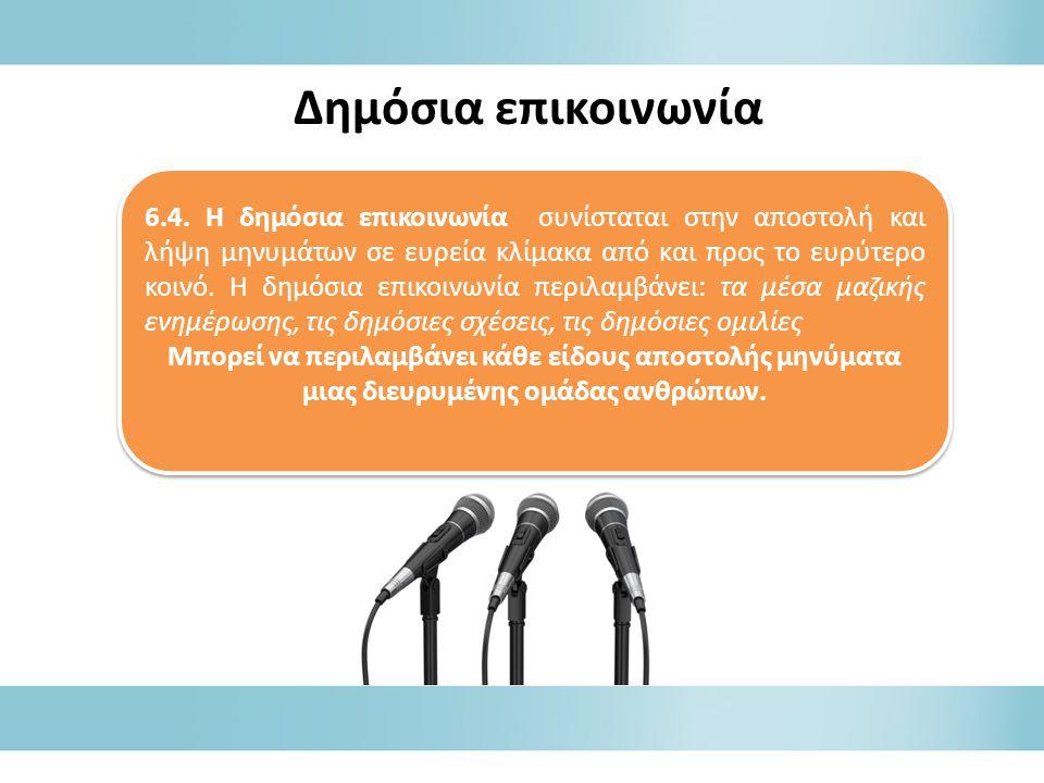 Δημόσια επικοινωνία