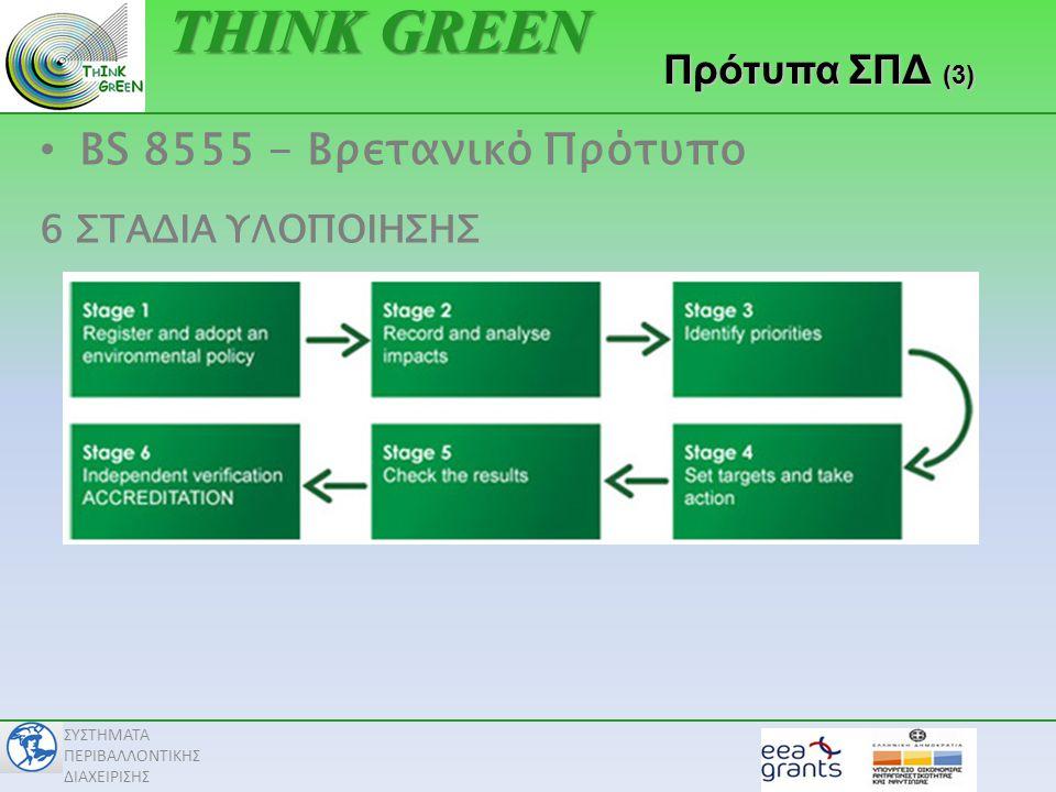 THINK GREEN BS 8555 - Βρετανικό Πρότυπο Πρότυπα ΣΠΔ (3)