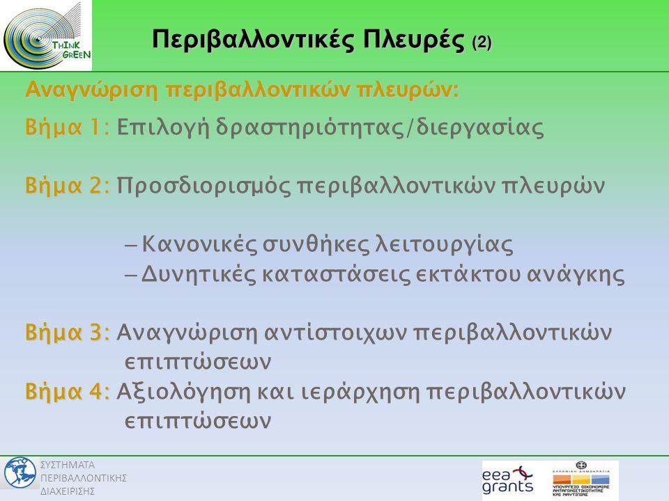 Περιβαλλοντικές Πλευρές (2)