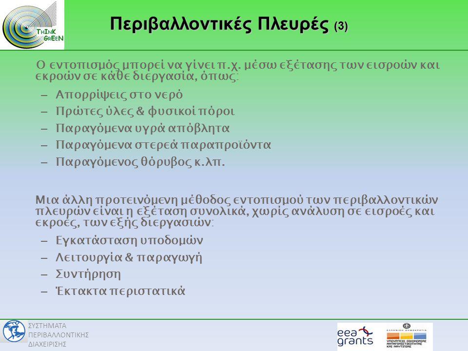 Περιβαλλοντικές Πλευρές (3)
