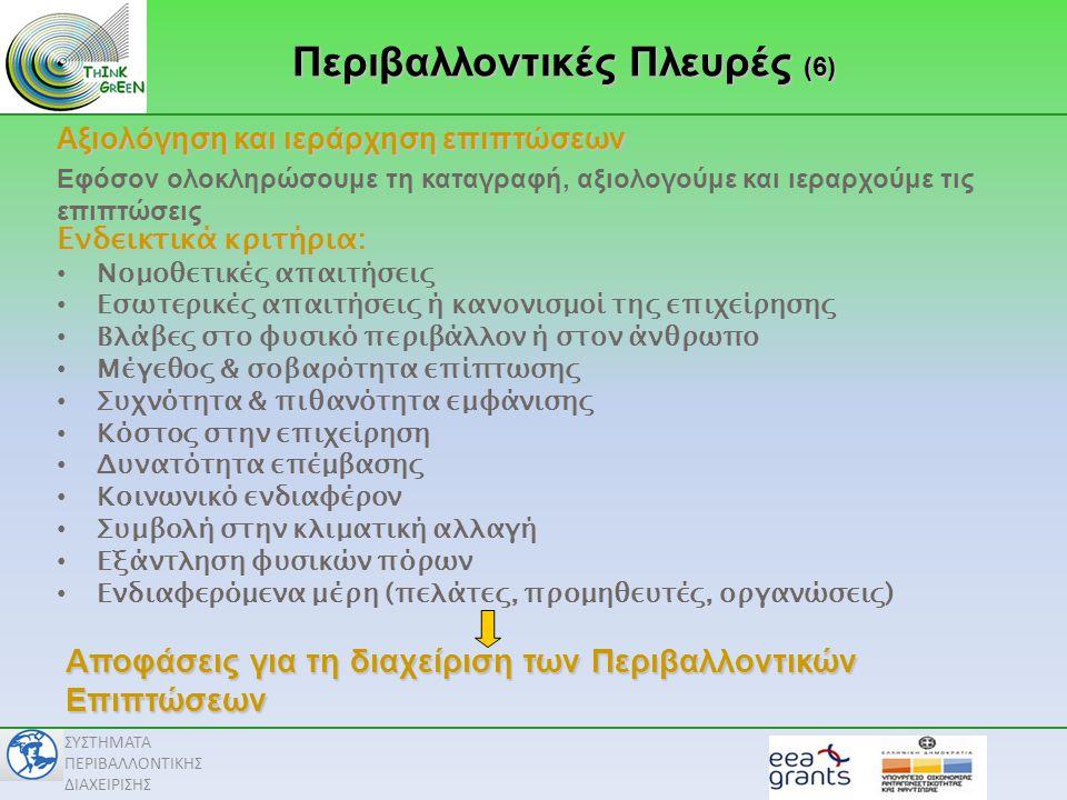 Περιβαλλοντικές Πλευρές (6)