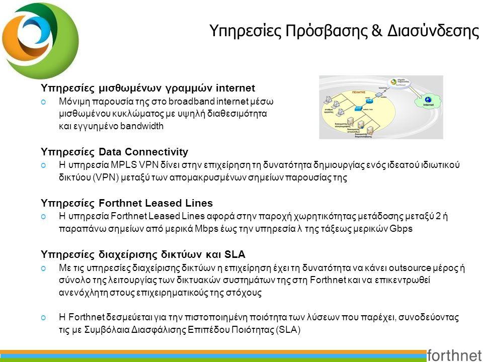 Υπηρεσίες Πρόσβασης & Διασύνδεσης