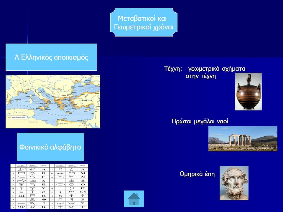 Α Ελληνικός αποικισμός