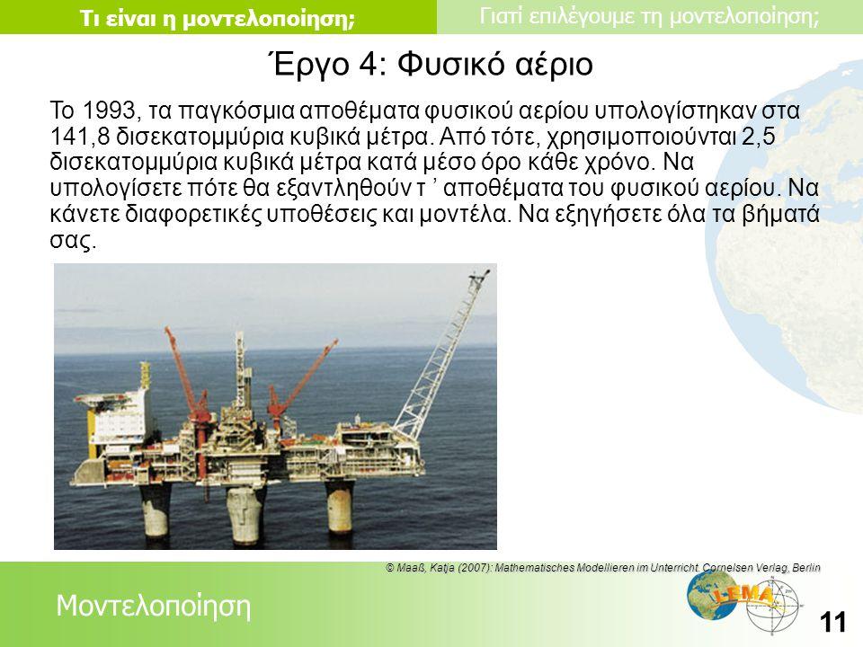 Έργο 4: Φυσικό αέριο