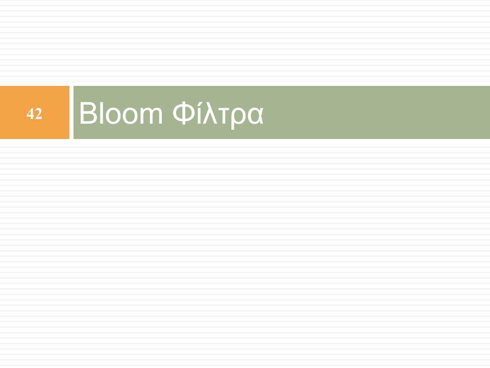 Bloom Φίλτρα